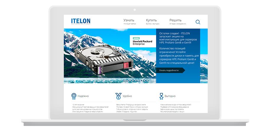 9f1ffe84902 Редизайн и сопровождение интернет-магазина Itelon